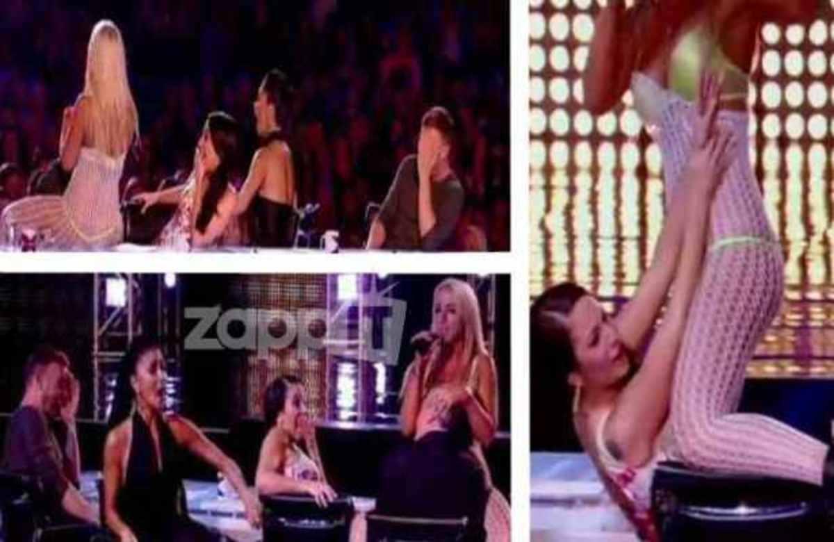 Διαγωνιζόμενη του X-Factor έκανε σεξουαλική επίθεση στους κριτές! | Newsit.gr