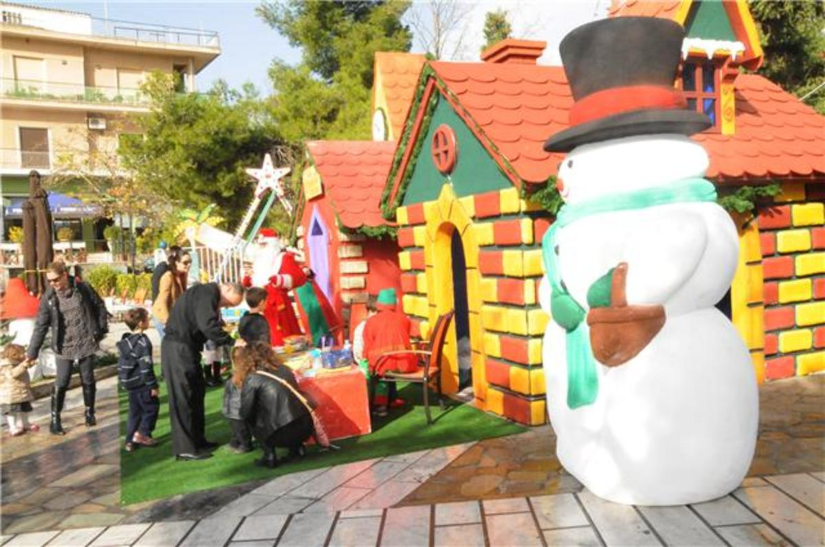 Ένα χριστουγεννιάτικο χωριό στην… Αθήνα!   Newsit.gr