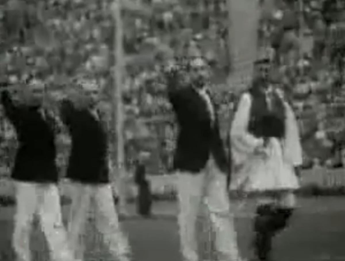 Ένα ξεχασμένο βίντεο: Ο ναζιστικός χαιρετισμός της ελληνικής ομάδας στην Ολυμπιάδα του Χίτλερ! | Newsit.gr