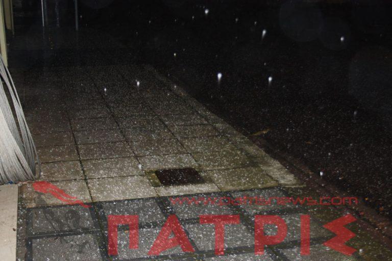 Νυχτερινό χαλάζι στον Πύργο!   Newsit.gr