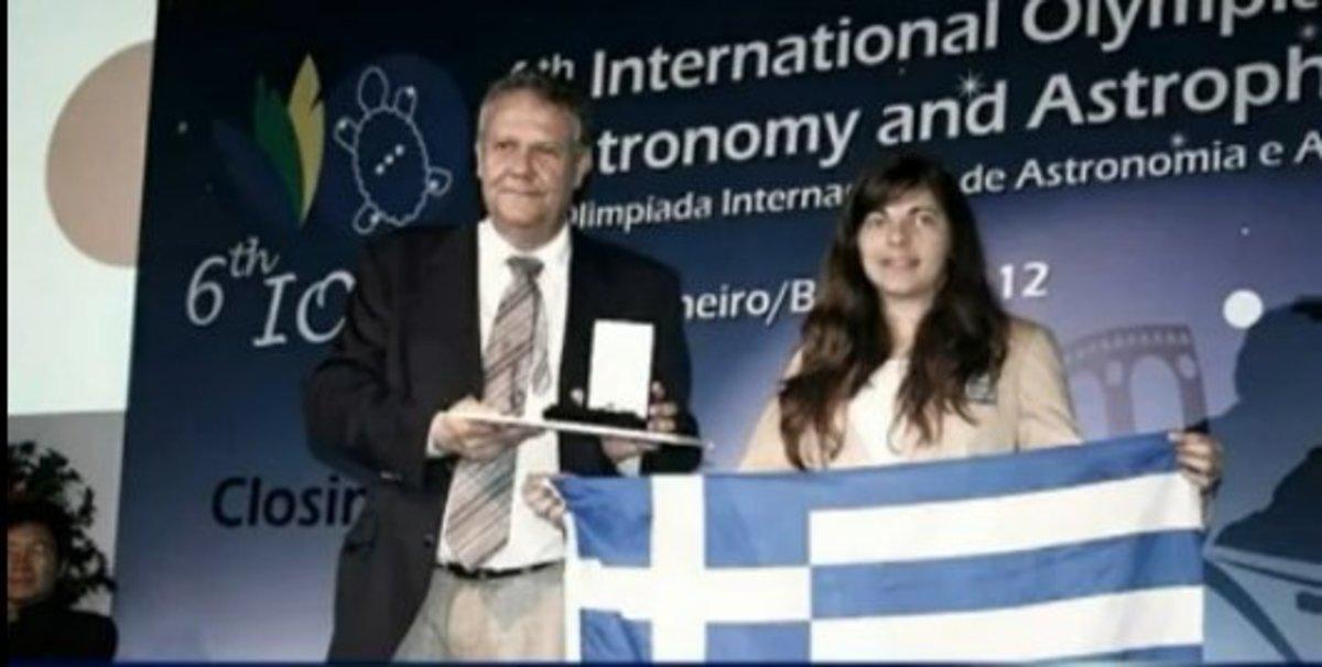 Μια μαθήτρια από την Ηλεία στο βάθρο των νικητών της Ολυμπιάδας Αστρονομίας – video | Newsit.gr