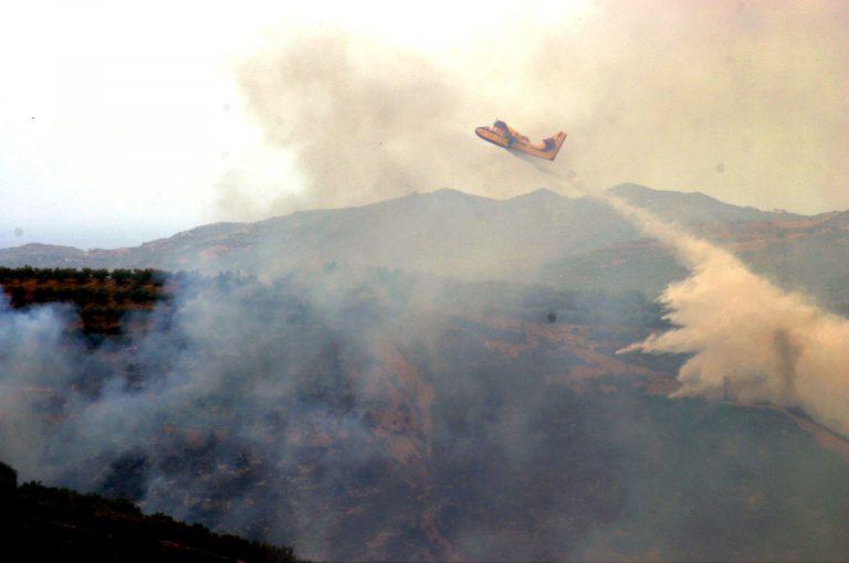 Υπό έλεγχο οι φωτιές σε Χανιά και Φωκίδα | Newsit.gr