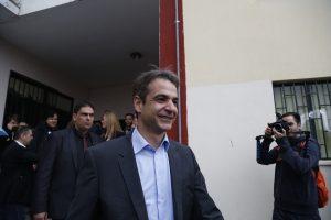 Αποτελέσματα εκλογών ΝΔ: Χωρίς… αντίπαλο ο Μητσοτάκης στα Χανιά