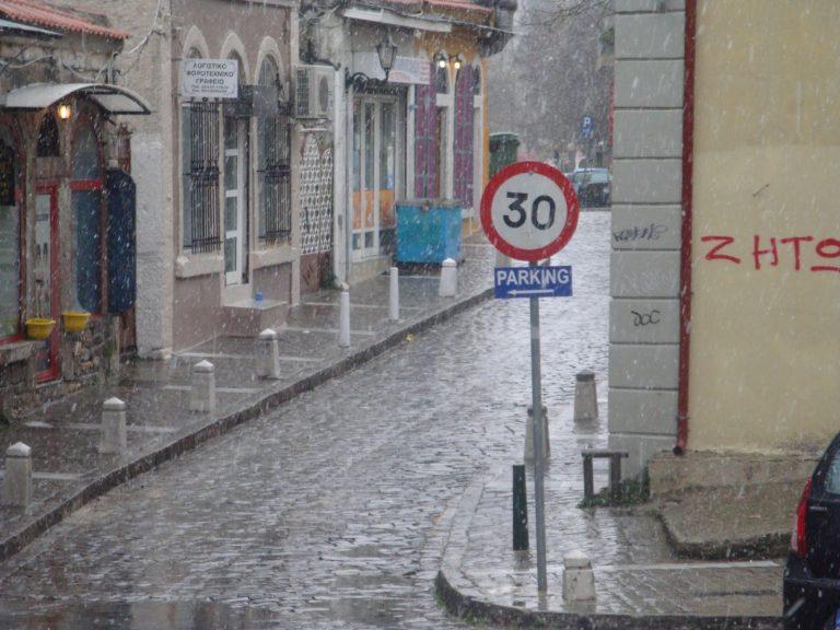 «Κατακλυσμός» και χιόνι στην Ξάνθη (video) | Newsit.gr