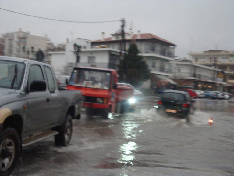 Βροχή, πλημμύρες και χαλάζι στην Ξάνθη – Video   Newsit.gr