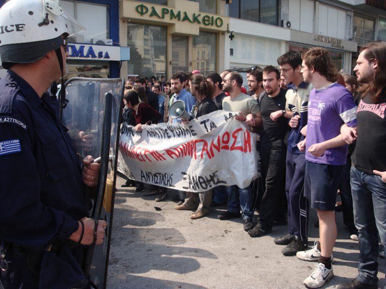 «Επετειακό»… ξύλο στην παρέλαση της Ξανθης -Video | Newsit.gr