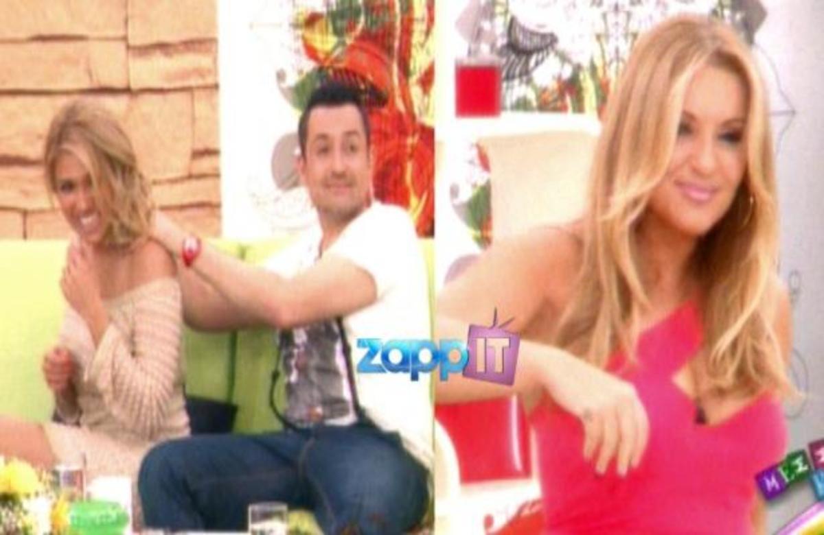 Το ζεϊμπέκικο της Ναταλίας και το μασάζ του Θέμη στην Έλενα κατά τη διάρκεια της εκπομπής! | Newsit.gr