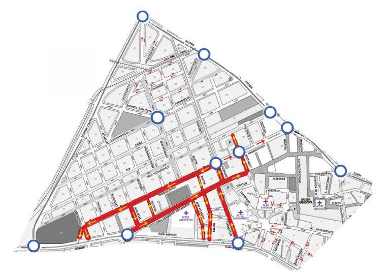Πύργος: Κυκλοφοριακό χάος από την εφαρμογή της κυκλοφοριακής μελέτης! | Newsit.gr