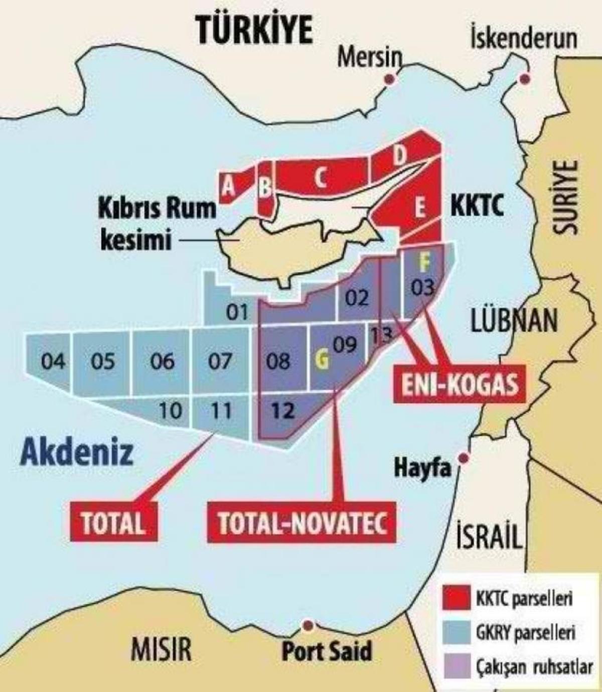 Χάρτης πανικού από την Τουρκία για τα κοιτάσματα στη Κύπρο | Newsit.gr