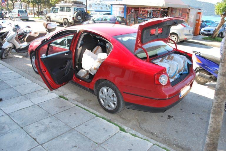 «Μπλόκο» σε 125 κιλά κάνναβης στην Ηγουμενίτσα | Newsit.gr