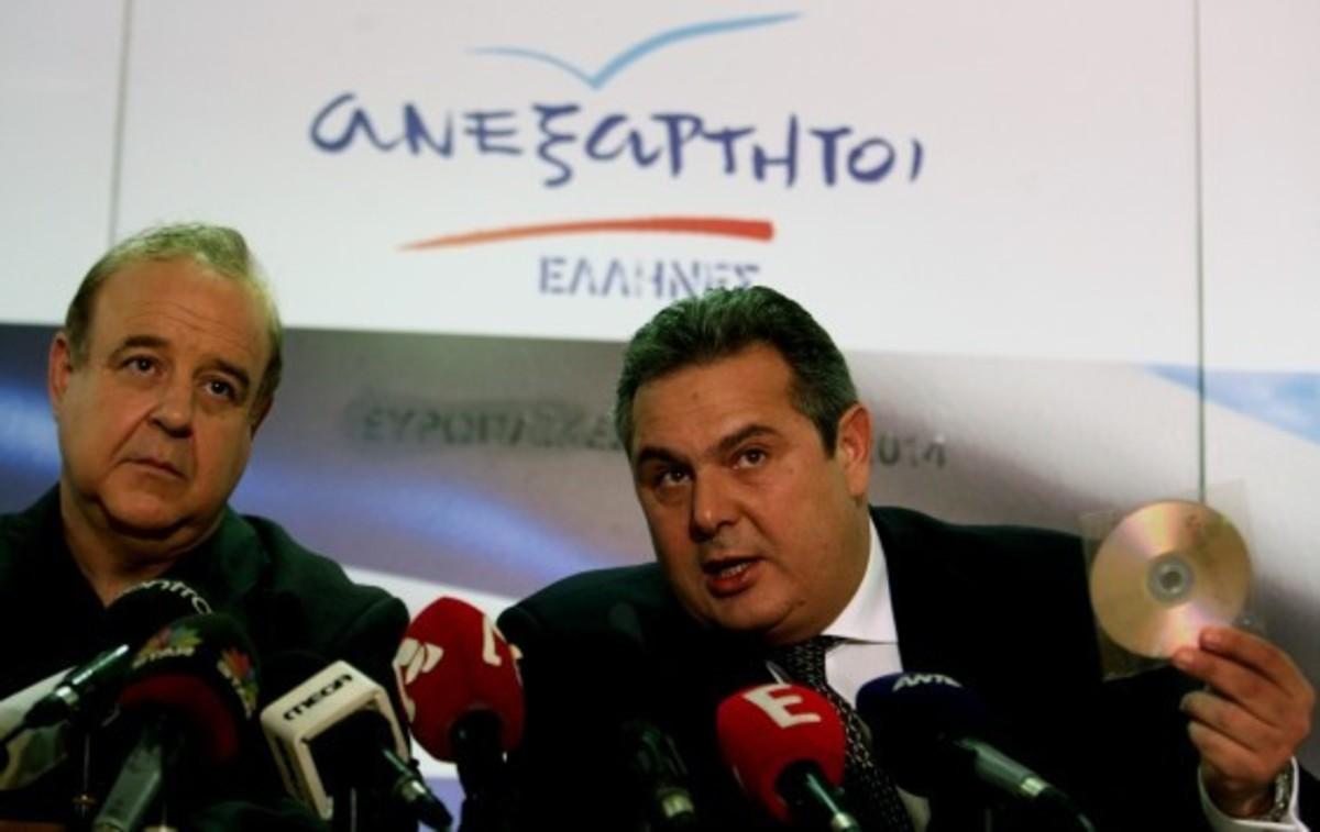 Στον εισαγγελέα Χαϊκάλης και Καμμένος – Εκ διαμέτρου αντίθετα όσα κατέθεσε ο Αποστολόπουλος
