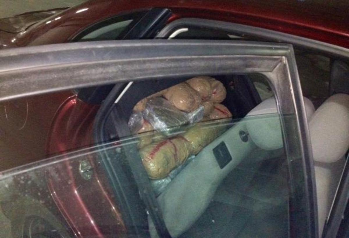 Αγρίνιο:  Μετέφεραν στο πορτ μπαγκάζ 84 κιλά χασίς! – ΦΩΤΟ | Newsit.gr