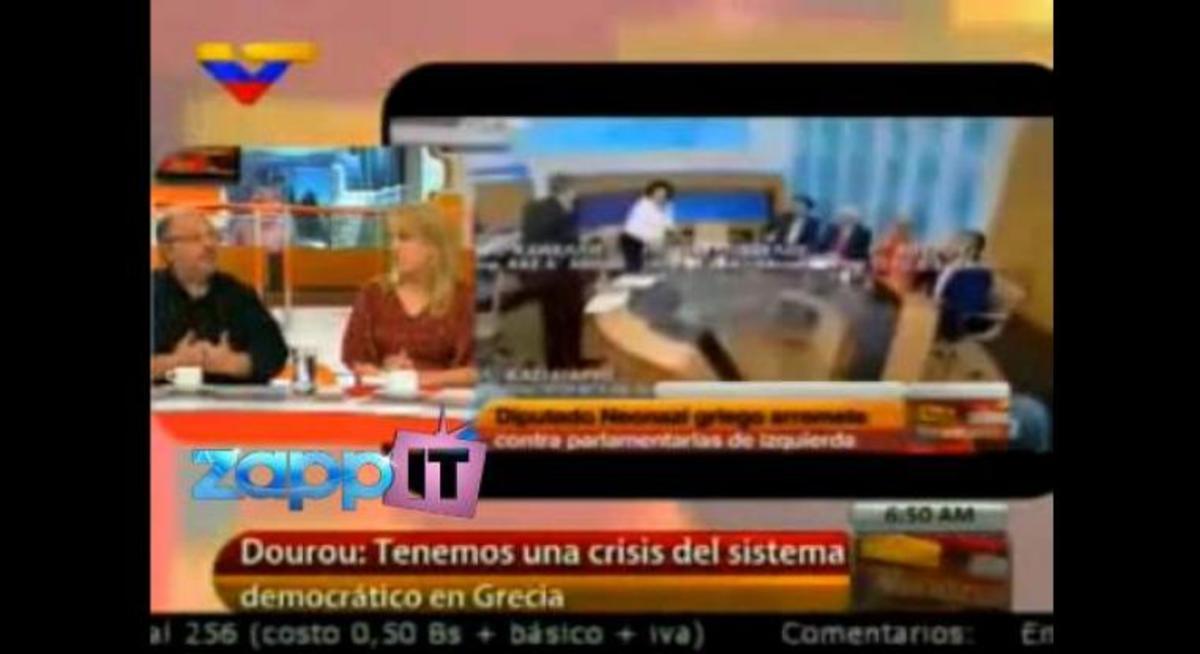 Η επίθεση του Κασιδιάρη σε Δούρου-Κανέλλη σε τηλεοπτική εκπομπή στη Βενεζουέλα! | Newsit.gr