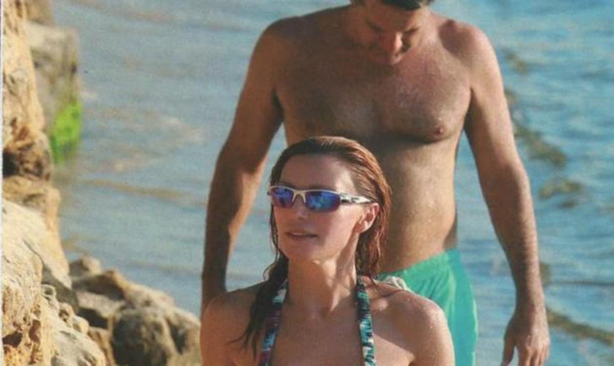 Β. Χατζηβασιλείου: Για beach volley με τον σύζυγό της! | Newsit.gr