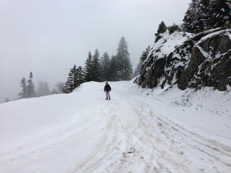 «Επιδρομή» του χιονιά στα ορεινά των Τρικάλων | Newsit.gr