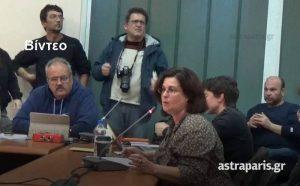 Χίος: Χαμός για τους πρόσφυγες στο δημοτικό συμβούλιο [vid]