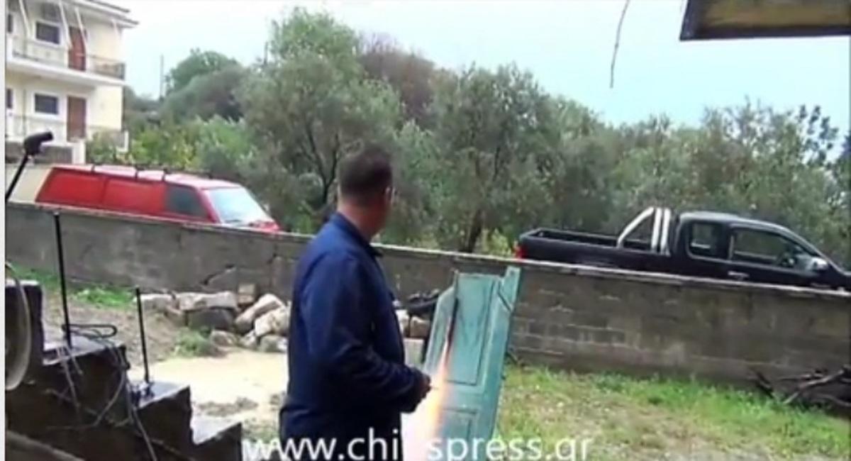 Σε θέση μάχης οι ρουκετατζήδες στη Χίο | Newsit.gr