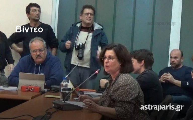 Χίος: Χαμός για τους πρόσφυγες στο δημοτικό συμβούλιο [vid] | Newsit.gr