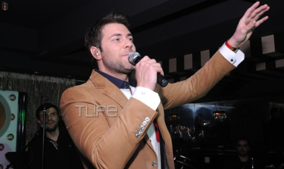 To ΤLIFE στην live εμφάνιση του Χ. Χολίδη! Φωτογραφίες   Newsit.gr