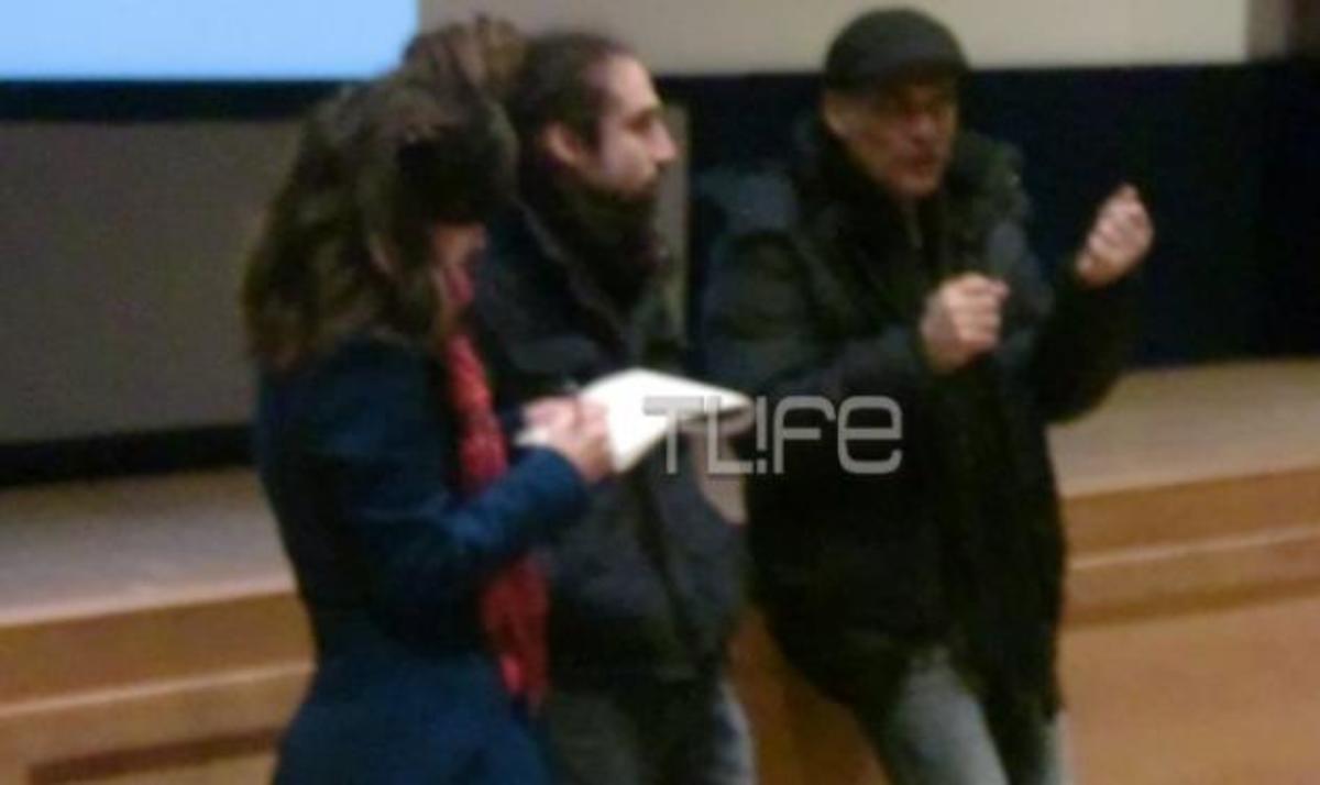 Γ. Χωραφάς: Η κινηματογραφική συνεργασία με τον γιο του! | Newsit.gr