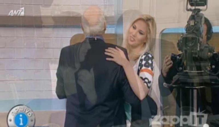 Ο Παπαδάκης χόρευε με την Κουτροκόη ενώ βλέπαμε φωτογραφία του Βενιζέλου!   Newsit.gr
