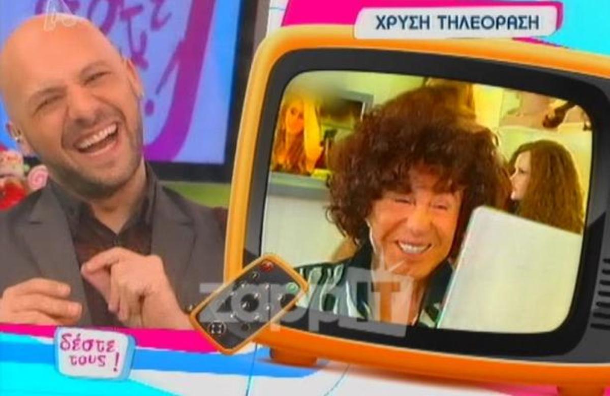 Η »χρυσή τηλεόραση»… στον Γιάννη Φλωρινιώτη! | Newsit.gr