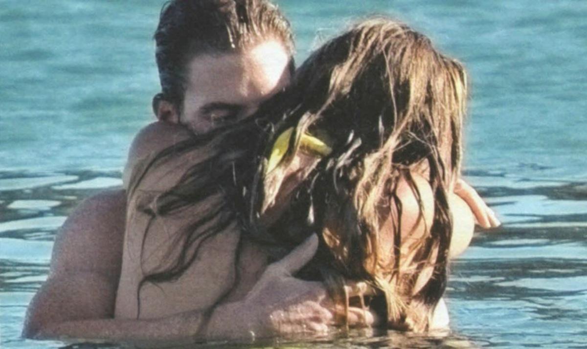 Λ. Πατίτσας – Μ. Χρουσαλά: Η φουσκωμένη κοιλίτσα και οι τρυφερές στιγμές στη θάλασσα!   Newsit.gr