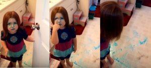 Τρελό Γέλιο! Την άφησαν μόνη της στο μπάνιο και είδαν ΑΥΤΟ μόλις επέστρεψαν! [vid]