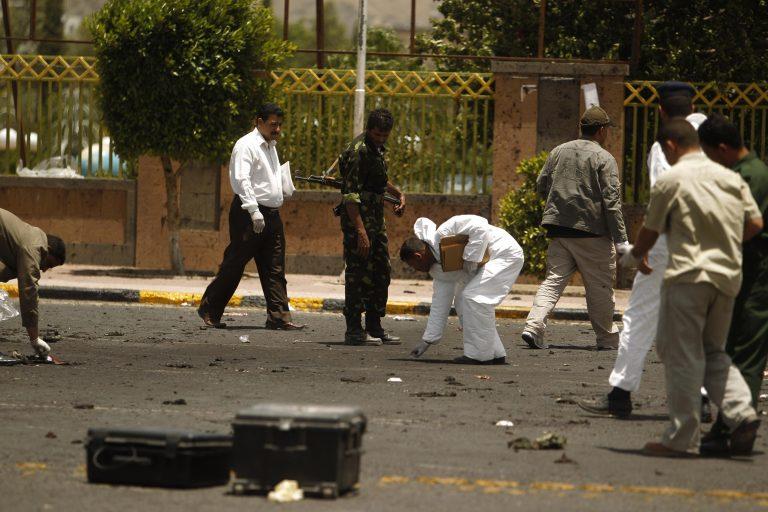 Καμικάζι με στολή αστυνομικού σκοτώνει 96 ανθρώπους την Υεμένη | Newsit.gr