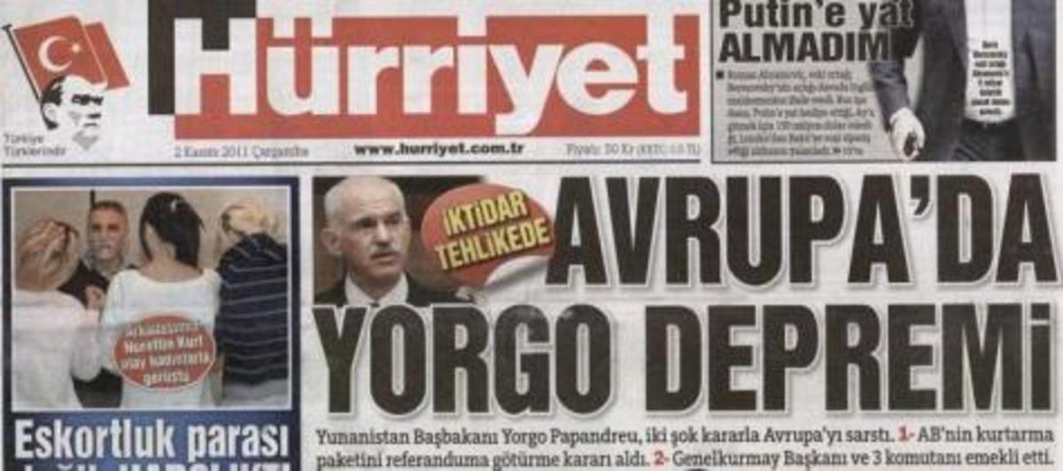 «Το κακομαθημένο παιδί, έκαψε τον κόσμο» – Τι λένε οι Τούρκοι για τον Παπανδρέου | Newsit.gr