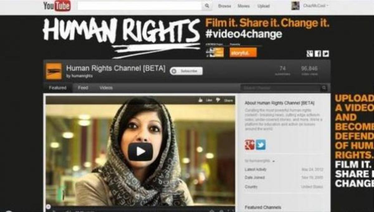 Νέο κανάλι στο Youtube για τα ανθρώπινα δικαιώματα!   Newsit.gr