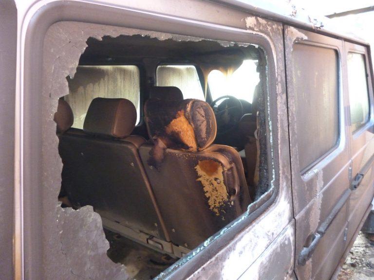 Ξάνθη: Πυρπόλησαν αυτοκίνητο του Υπουργείου Εξωτερικών (Φωτό και Video) | Newsit.gr