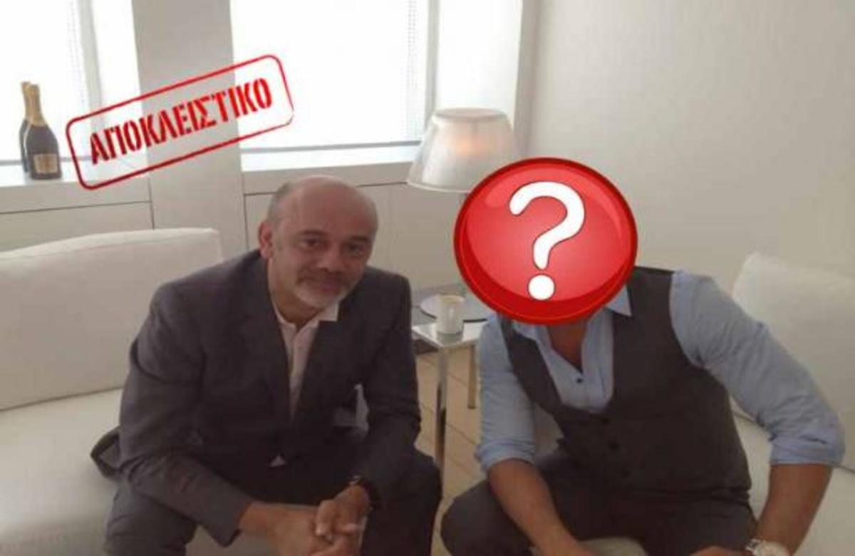 Ποιος Έλληνας παρουσιαστής επιλέγει με τον C. Louboutin το νέο μοντέλο του Martini; | Newsit.gr