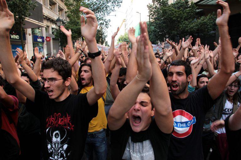Θεσσαλονίκη: Μάθημα… στο δρόμο! | Newsit.gr