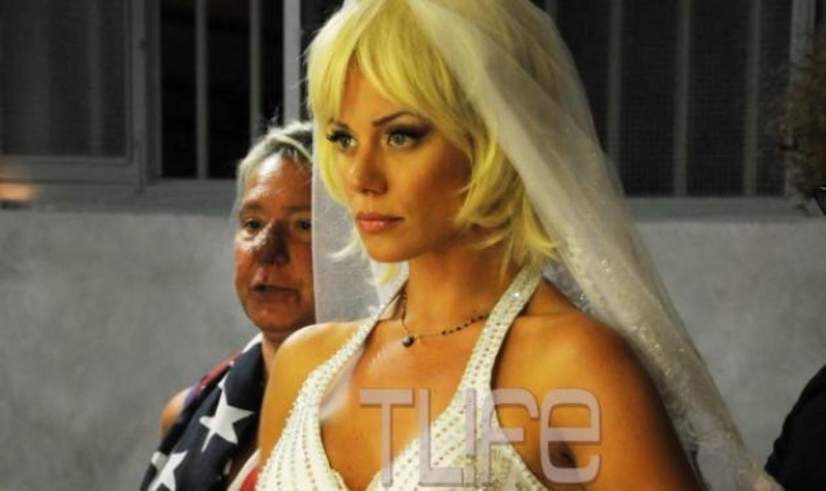 Η Ζέτα Μακρυπούλια κάνει πρόβα νυφικού! Αποκλειστικές φωτογραφίες   Newsit.gr