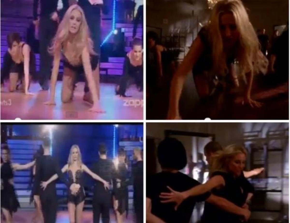 ΔΕΙΤΕ από που αντέγραψε την χορογραφία  της Ζέτας ! Βίντεο  από το «GLEE»… Φωκάς : «Το έφτιαξα εγώ…» | Newsit.gr