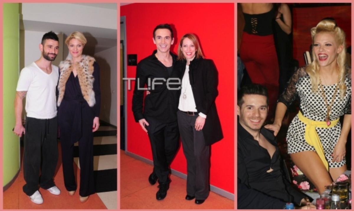 Τα ερωτευμένα ζευγάρια στον τελικό του Dancing with the stars 3! Φωτογραφίες | Newsit.gr