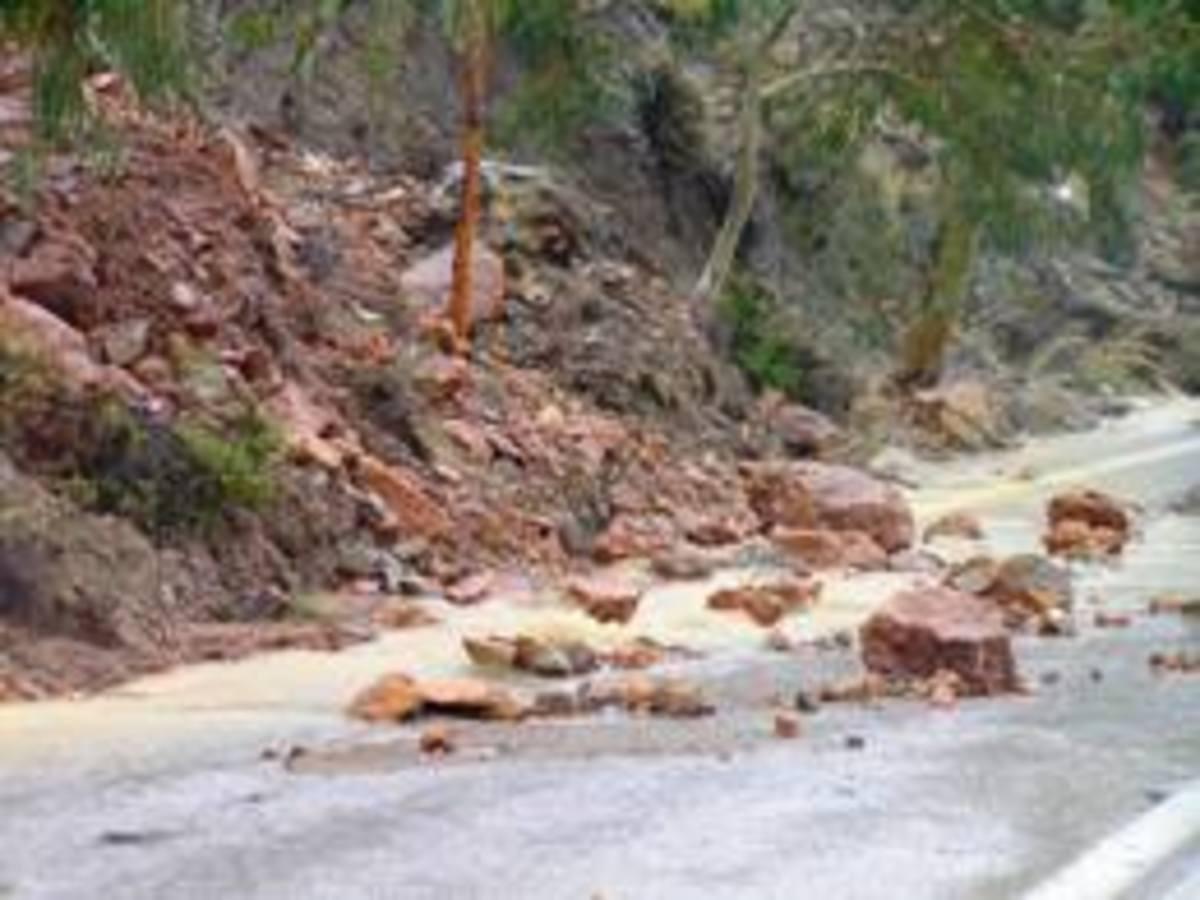 Πρέβεζα: κατολισθήσεις στην παραλιακή οδό | Newsit.gr