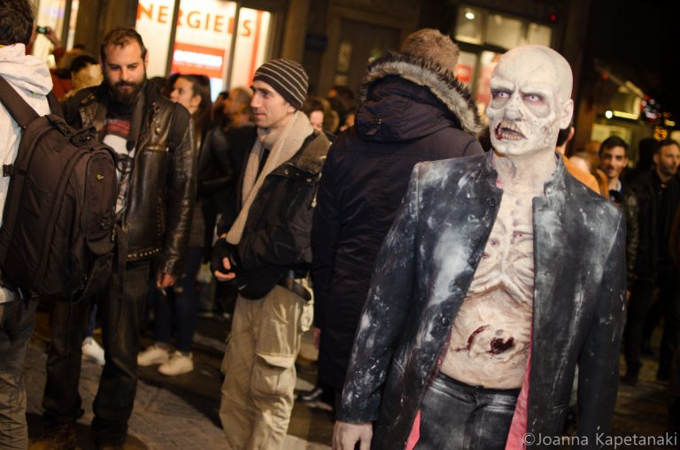 Το Σάββατο 25/02 θα γεμίσει ζόμπι το κέντρο της Αθήνας! [pics] | Newsit.gr