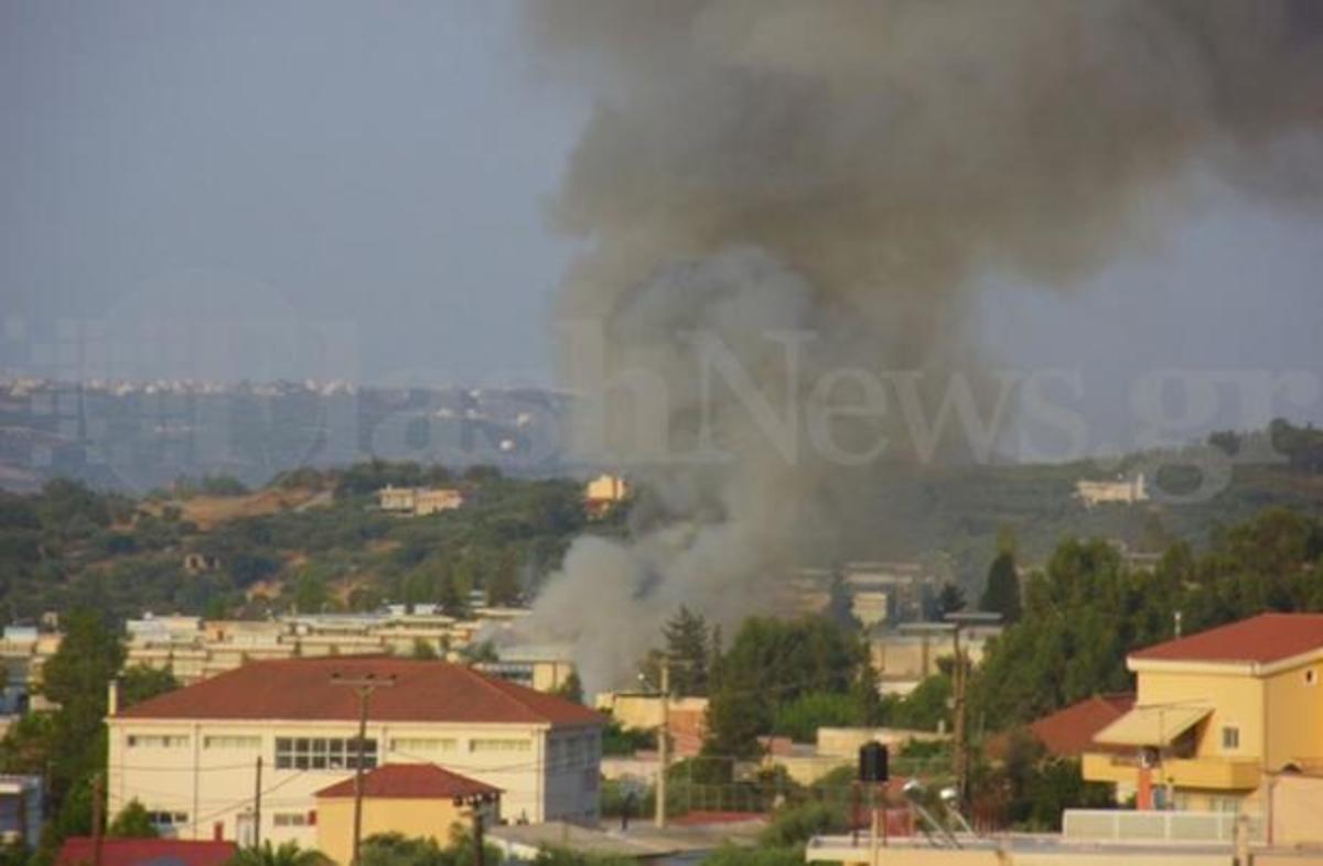 Στις φλόγες κτίριο στο Βιοτεχνικό Πάρκο Χανίων – Και νέα φωτιά στις Μαδάρες – ΦΩΤΟ | Newsit.gr
