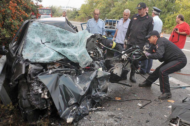 Η άσφαλτος βάφτηκε με αίμα | Newsit.gr