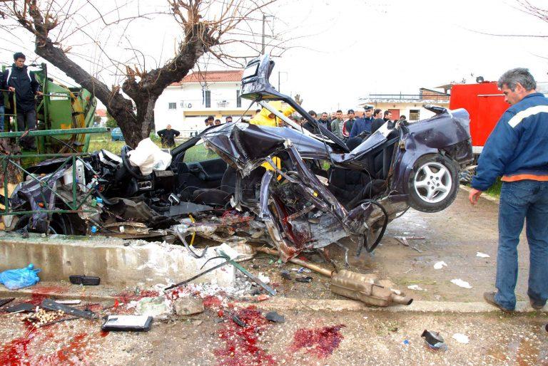 Καρδίτσα: Η άσφαλτος βάφτηκε με αίμα | Newsit.gr