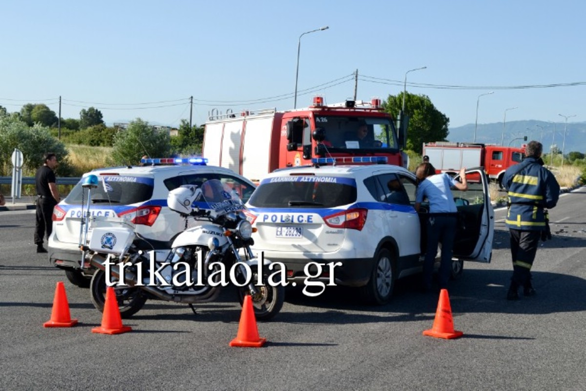 Τρίκαλα: Νέο τροχαίο με 5 τραυματίες – Σφοδρή σύγκρουση δύο αυτοκινήτων! | Newsit.gr