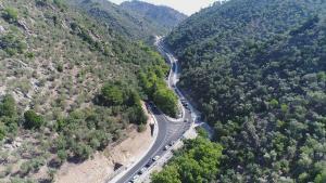 Μυτιλήνη: Παραδόθηκε η νέα επαρχιακή οδός