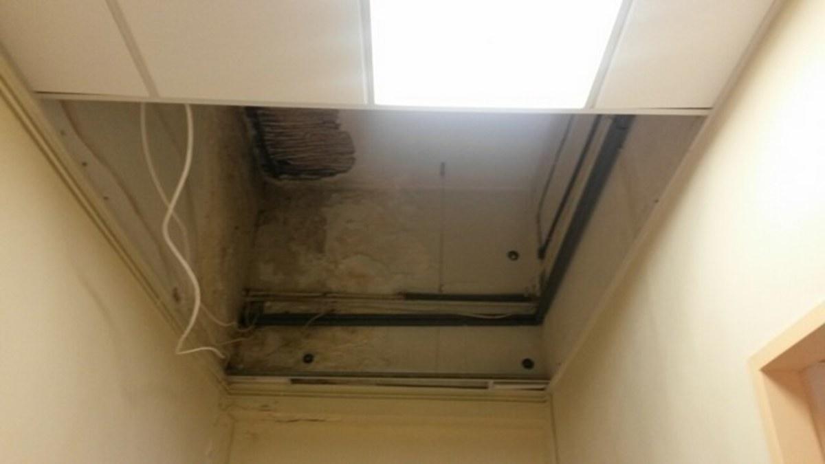 Χίος: Κατέρρευσε τμήμα της οροφής του δημόσιου νοσοκομείου – Απίθανες εικόνες μπροστά σε ασθενείς [pics] | Newsit.gr