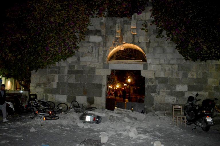 Σεισμός στην Κω: Ζημιές σε μνημεία και αρχαιολογικούς χώρους – Τι έδειξε η αυτοψία…