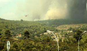 Φωτιά στην Αττική – Αγωνία και νέες αναζωπυρώσεις: Αίτημα για βοήθεια από την Ευρώπη – Μία σύλληψη [pics, vids]