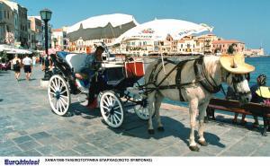 Χανιά: Αντιδράσεις αμαξάδων για το νέο ωράριο – Τους κόβουν 90 λεπτά παραμονής στο ενετικό λιμάνι!