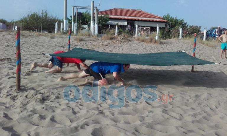 Ηλεία: Κολλημένοι με το Survivor – Οι μάχες μικρών και μεγάλων στην παραλία της Σπιάντζας! | Newsit.gr