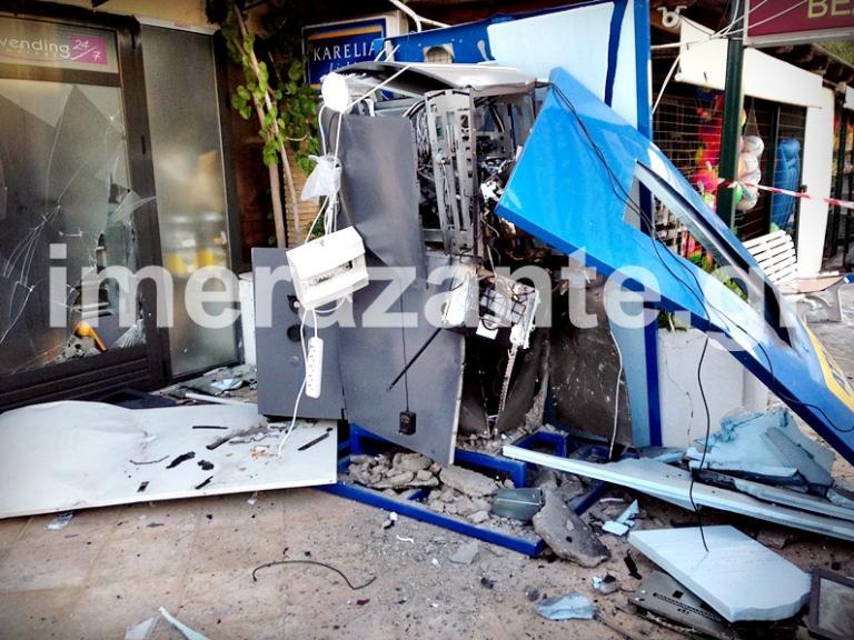 Ζάκυνθος: Ανατίναξαν αυτό το ΑΤΜ στην περιοχή των Αλυκών και έφυγαν με χρήματα [pic] | Newsit.gr